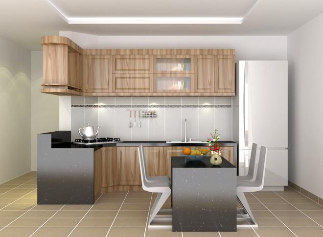 Kết quả hình ảnh cho không gian bếp hiện đại